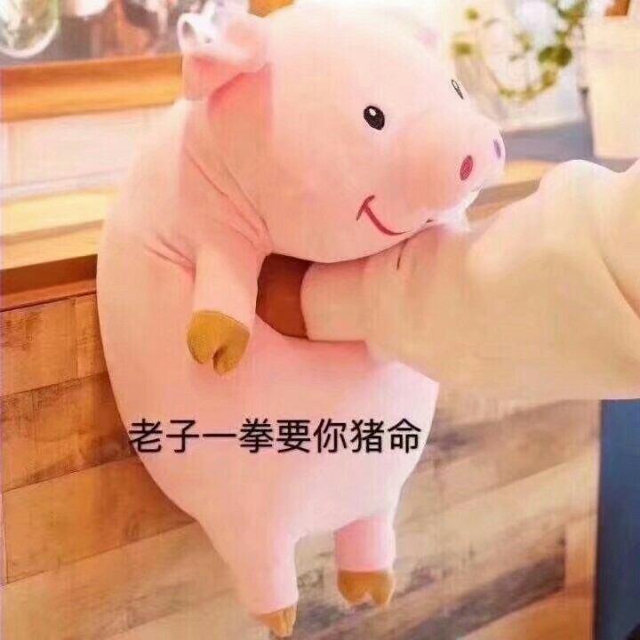 猪委屈的图片可爱图片