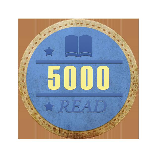 阅读5000篇